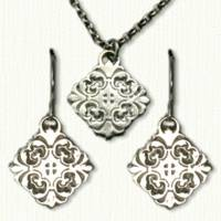 SL05980F Earrings and Necklance Set